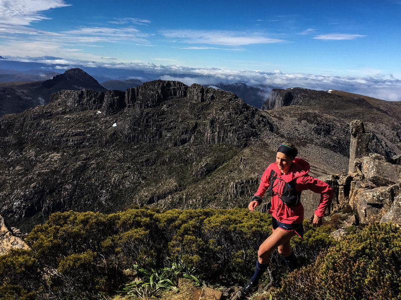 Trail Running Tasmania Mt Anne