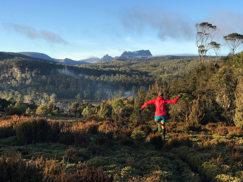 Trail Running Tasmania Cradle Mountain